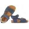 EMEL E2509-31 SANDAŁKI PROFILOWANE DZIECIĘCE FUSBETY granatowe